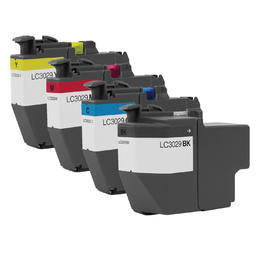 Brother LC3029 XXL Compatible Ink Cartridge Combo Extra High Yield BK/C/M/Y