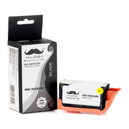 Remanufactured HP 902XL T6M14AN Black Ink Cartridge High Yield - Moustache®