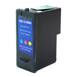 Dell CH884 Remanufactured Color Ink Cartridge High Yield for Dell 966 968 968w Printer