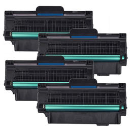 Dell 330-9523 2MMJP 7H53W Compatible Black Toner Cartridge High Yield - Economical Box - 4/Pack