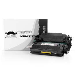 Compatible HP 87X CF287X Black Toner Cartridge High Yield - Moustache®