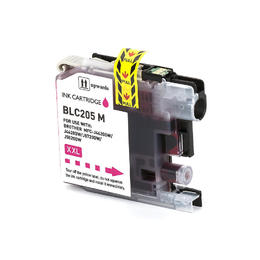 Brother LC205M Compatible Magenta Ink Cartridge Extra High Yield