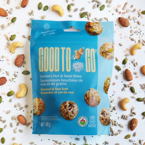 Almond & Sea Salt Savoury Nut & Seed Bites (100g)