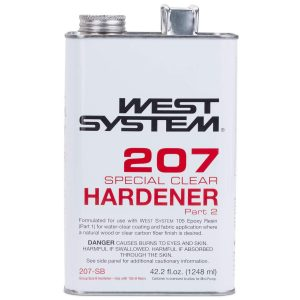 WEST SYSTEM SPECIAL CLEAR COATING HARDENER 1.32 QUART