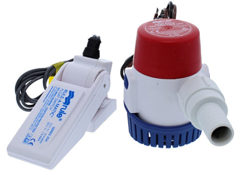 360GPH PUMP AND SWITCH COMBO