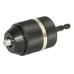"ROK Keyless Chuck 1/2"" with 1/4"" Hex Shank"