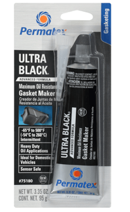Permatex Ultra Black® Maximum Oil Resistance RTV Silicone Gasket Maker