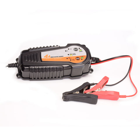 BATTERY CHARGER 4A SMART 12V LITHIUM & 6V/12V LEAD