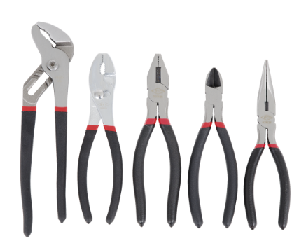ITC - CUSHION GRIP PLIERS SET - 5 PC