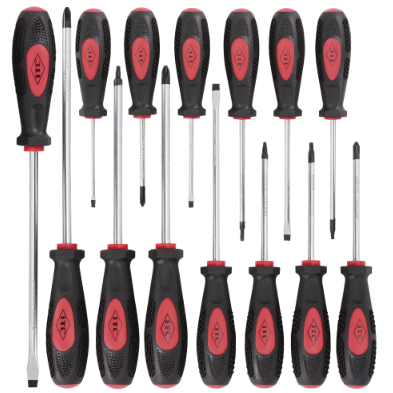 ITC SCREWDRIVER SET - 14 PC - CRV