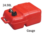 SCEPTER 6.6 GALLON PORTABLE FUEL TANKS WITH GAUGE