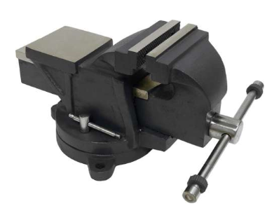 "4"" HEAVY DUTY VISE WITH SWIVEL"