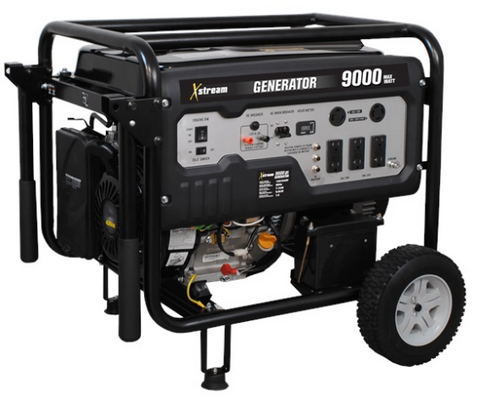 BE Power Equipment 9000W 15 HP Electric Start Generator