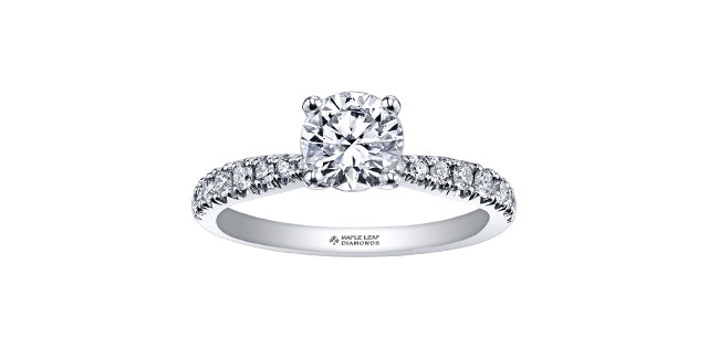 .60 carat Round Brilliant Cut Diamond Engagement Ring
