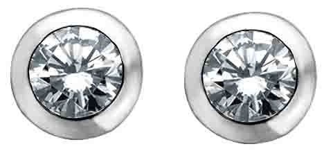 Round Diamond Stud Earrings