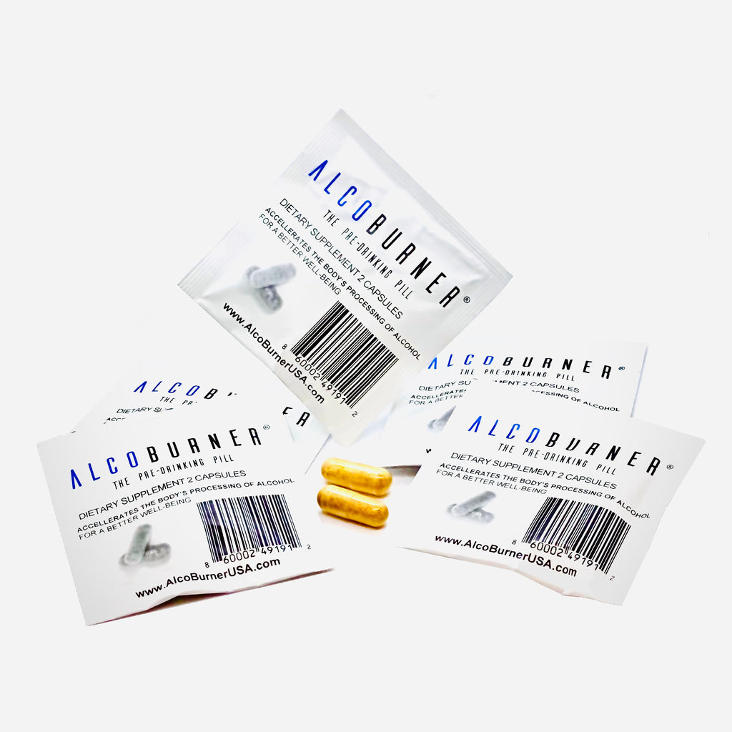 AlcoBurner® Weekend Kit (3 bags, 6 total pills)