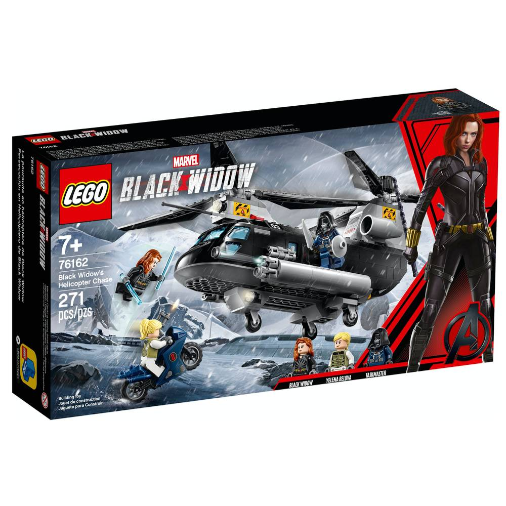 SH SET DE BLACK WIDOW