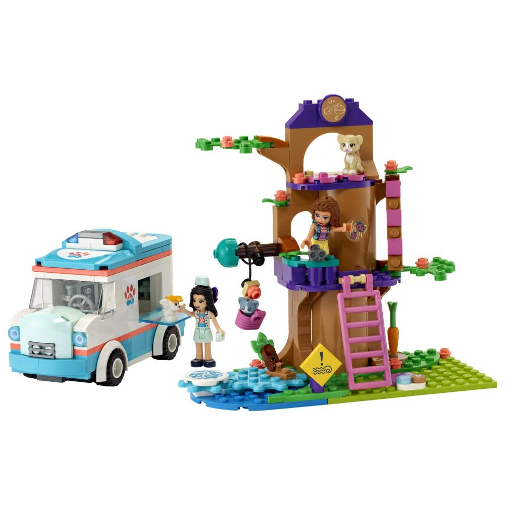 LEGO®Friends Ambulancia De La Clínica Veterinaria_002