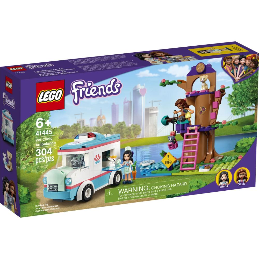 LEGO®Friends Ambulancia De La Clínica Veterinaria_001