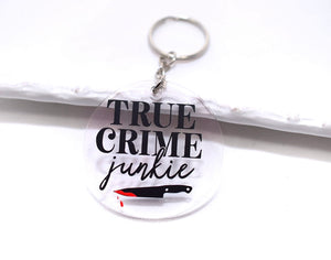 True Crime Keychain