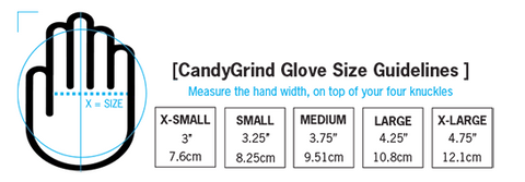 glove fitting guide