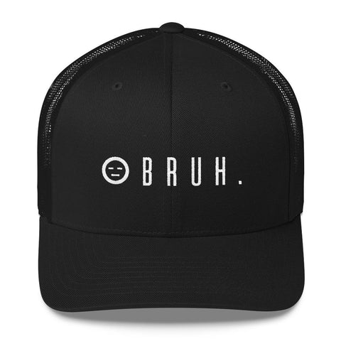 Sick as... blacker than black trucker hat - BRUH.