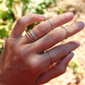 tiny stacker rings