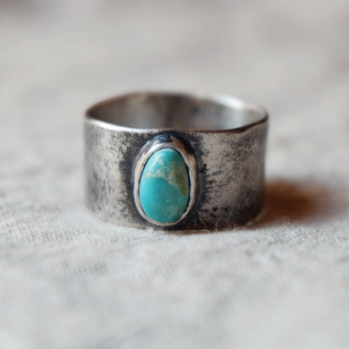 wide band w/ turquoise