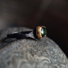 Load image into Gallery viewer, tourmaline ring in 10k gold
