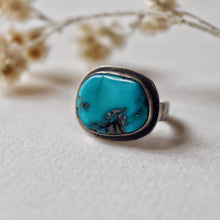 Load image into Gallery viewer, turquoise ring - size 5