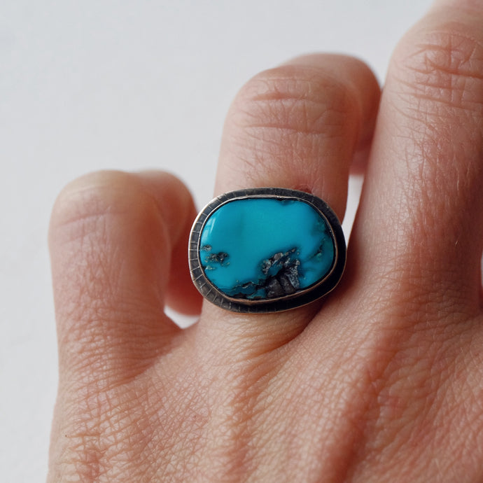 turquoise ring - size 5