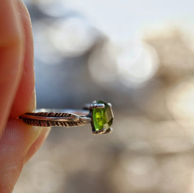 tourmaline ring - size 5.25