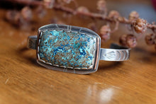 Load image into Gallery viewer, chrysocolla cuff