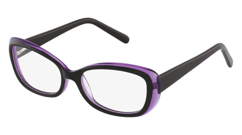 Bordeux black mulberry acetate women's glasses