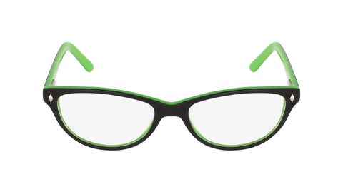 Greenwich green black acetate women's glasses