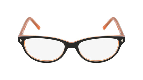Notting Hill orange brown white acetate women's glasses