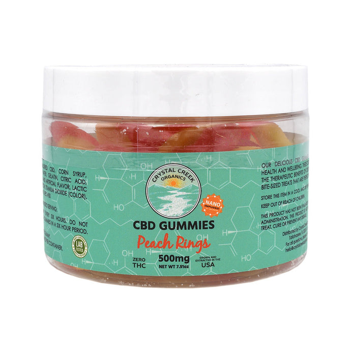 Gomitas CBD Crystal Creek - 500MG