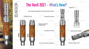 Dynavap VonG 2021 - Vaporizador Herbal
