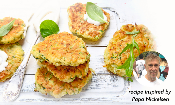 Air Fryer Zucchini Fritters