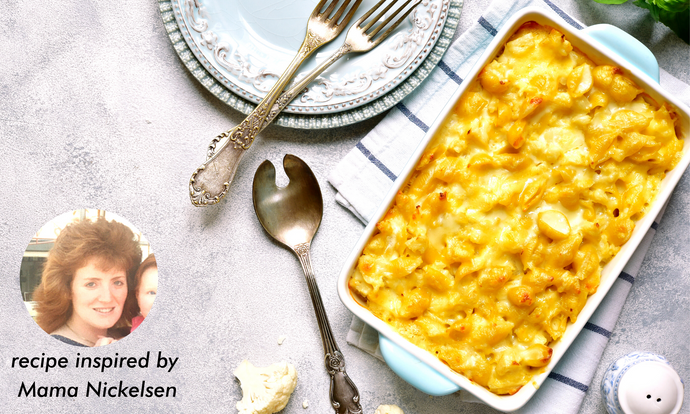 Cauliflower Mac n' Cheese (Dairy-Free, Vegan)