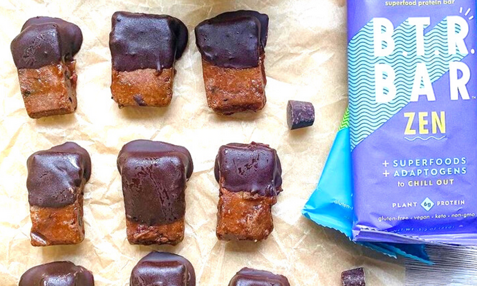 Caramel Dark Chocolate Bites