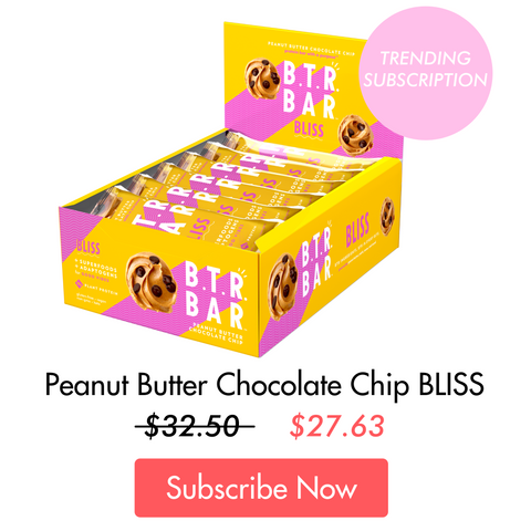peanut butter chocolate chip bliss subscription