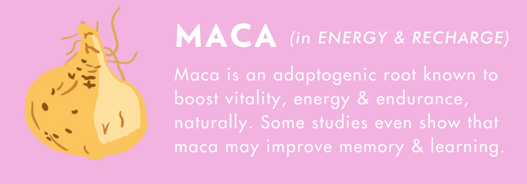 what are the benefits of maca for energy?