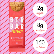 Load image into Gallery viewer, no added sugar, low sugar, low carb, low cal protein bar