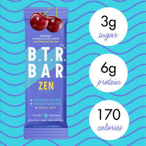 Cherry Chocolate Chip ZEN (12 Bars) + Bonus E-Book