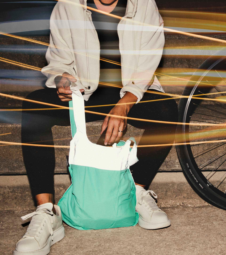 Reflective Notabag Mini – Mint
