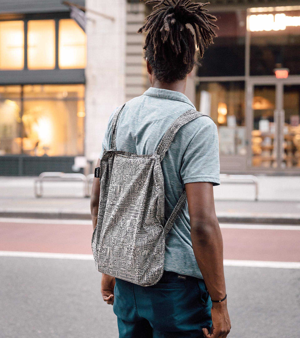 Notabag Hello World – Grey/Black