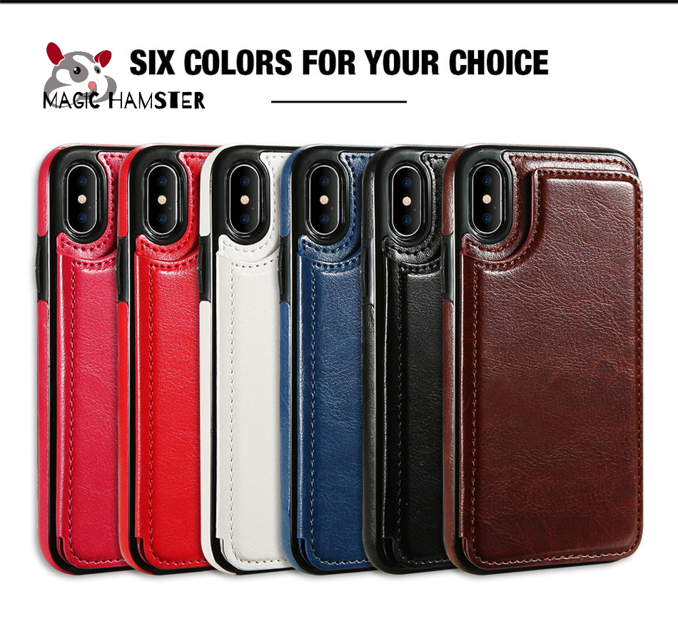 iLeather™ IPhone Multi Card Holder Case 7/8/X/XR/XS