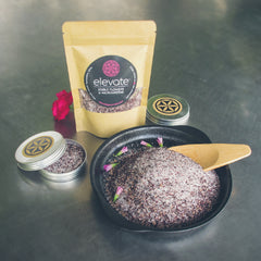 Sugar Rim and Flower Dust Garnishes-Unique-Gaiatree Sanctuary and Elevate-100g-Pink Rosella Dust-Aggie Global Fiji