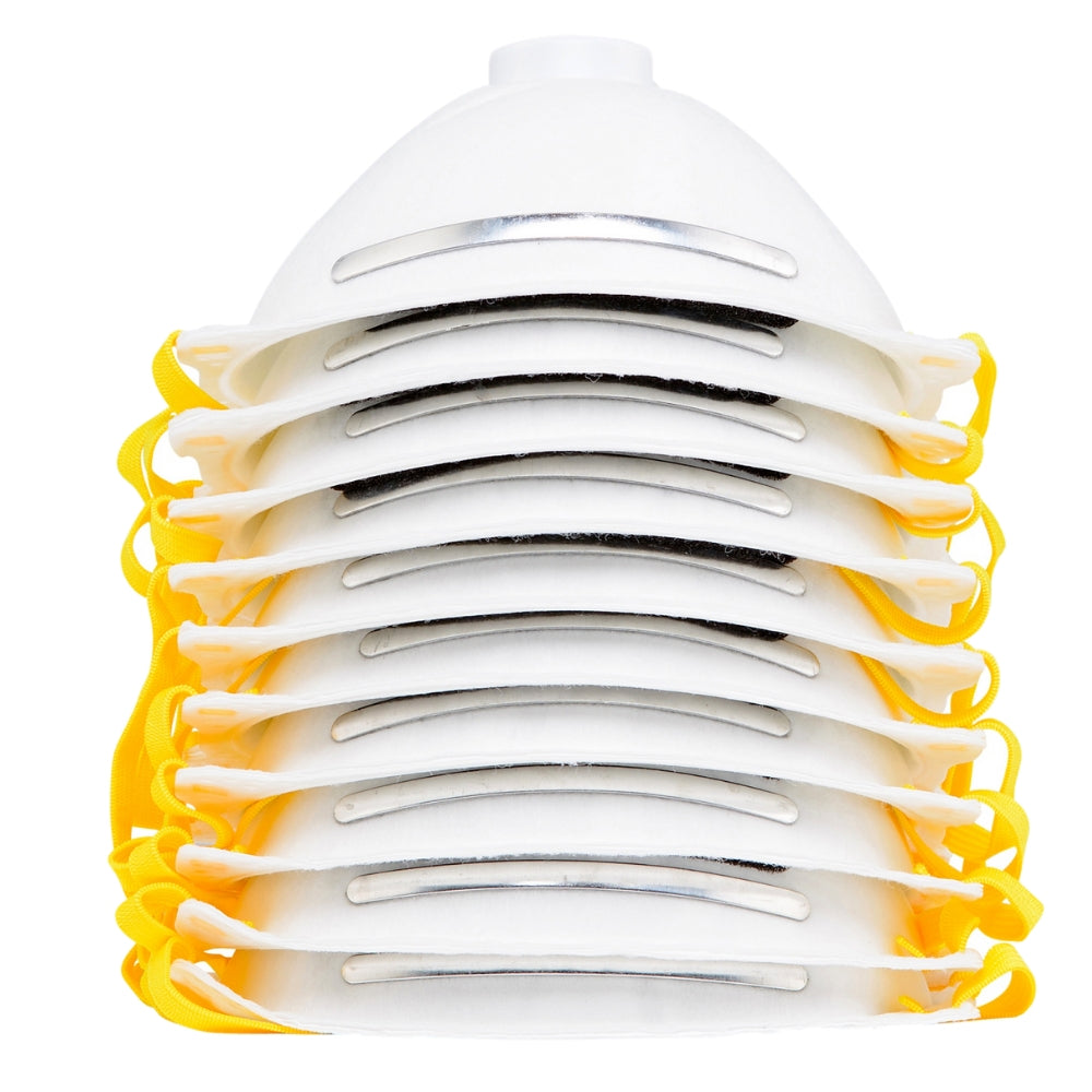 1802 (10-pack) N99 Disposable Dust Masks w/ Valve